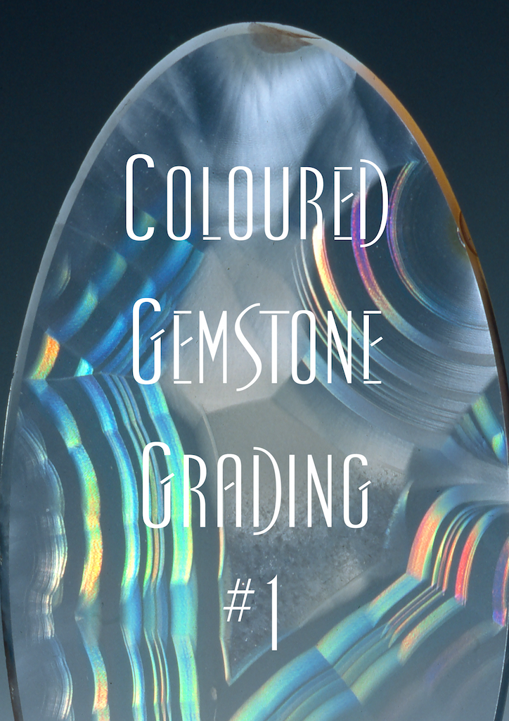Coloured Gemstone Grading #1 Cover