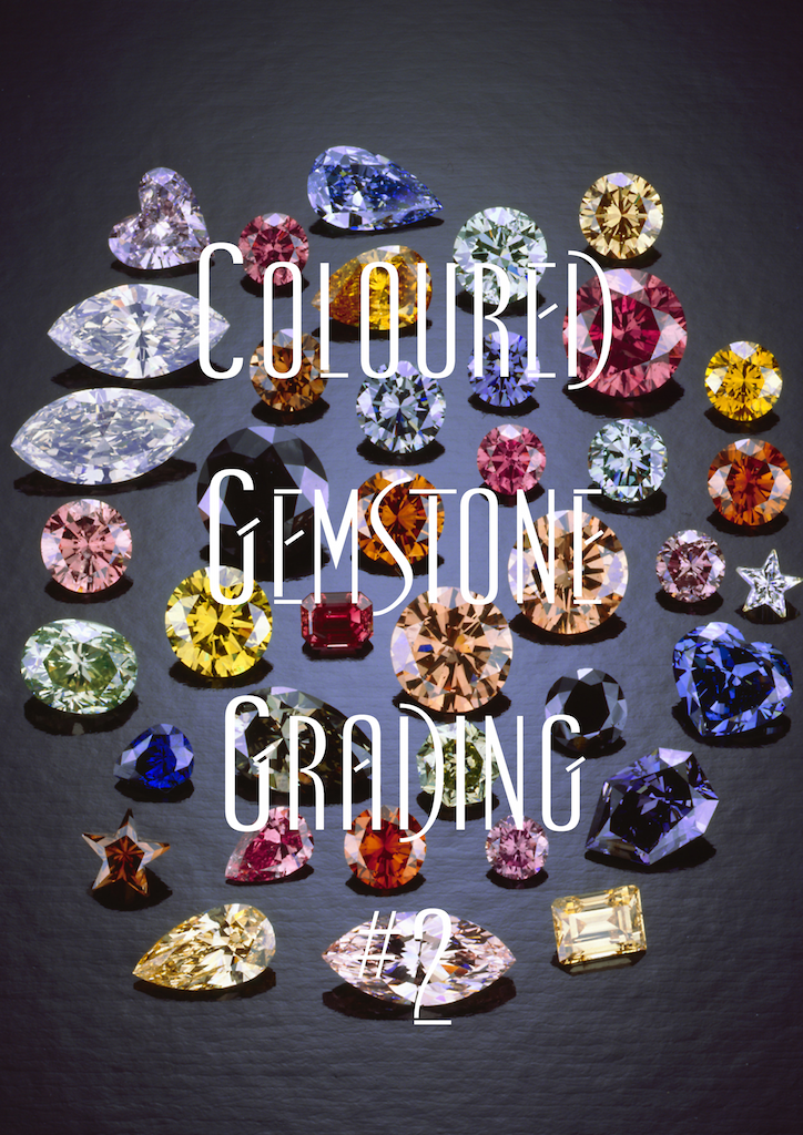Coloured 					Gemstone Grading #2 Cover